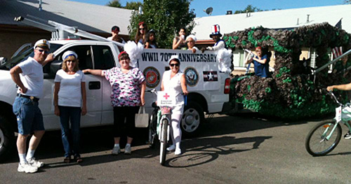 Sandalwood Wins Award for Carnation Parade Float!